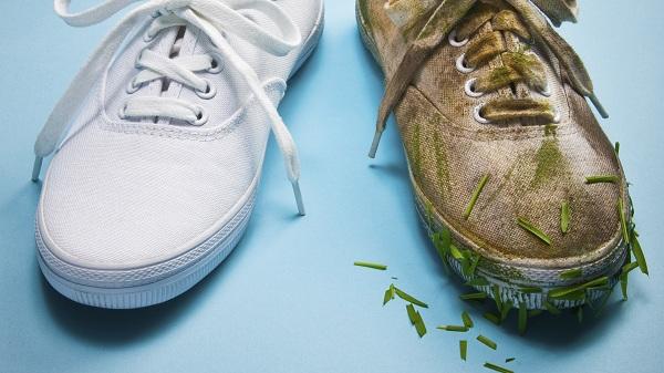 شستن کفش کتانی با ماشین لباسشویی