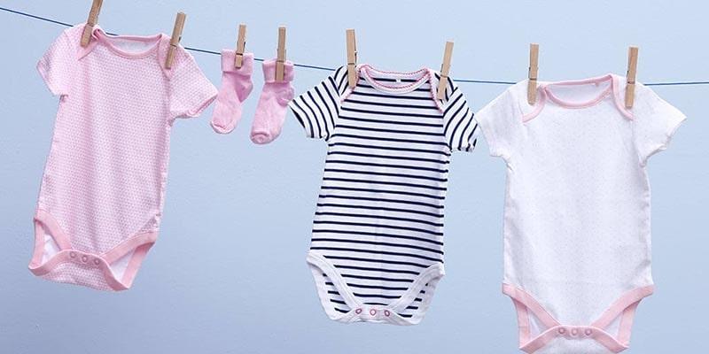 آموزش شستن لباس نوزاد کودک و صفر تا صد آن